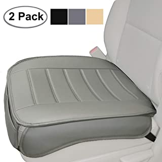 Big Ant Edge Wrapping 2pc Car Front Seat Cushion Cover Pad Mat for Auto Supplies Office..