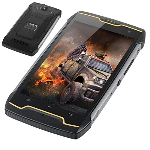 CUBOT Kingkong - IP68 Antipolvere impermeabile antipolvere smartphone, batteria 4400mAh, Android 7.0 5.0 pollici Quad Core 1.3GHz 2 GB + 16 GB, fotocamera da 8MP + 13MP GPS