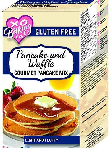 XO Baking Pancake and Waffle Gourmet Mix – Gluten Free Pancake and Waffle Mix – Light Fluffy Hotcakes and Waffles (16oz)