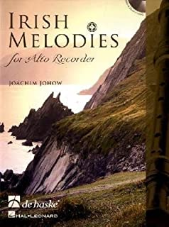 Irish Melodies for Alto Recorder Flûte a Bec +CD