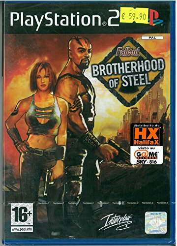 Fallout: Brotherhhod of Steel Videogioco Playstation 2 PS2 Sig 5026102007797