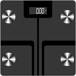 Báscula de baño Inteligente Bluetooth, báscula de precisión Digital, Soporte de Carga USB, con analizador Inteligente de Cuerpo Humano, báscula multifunción