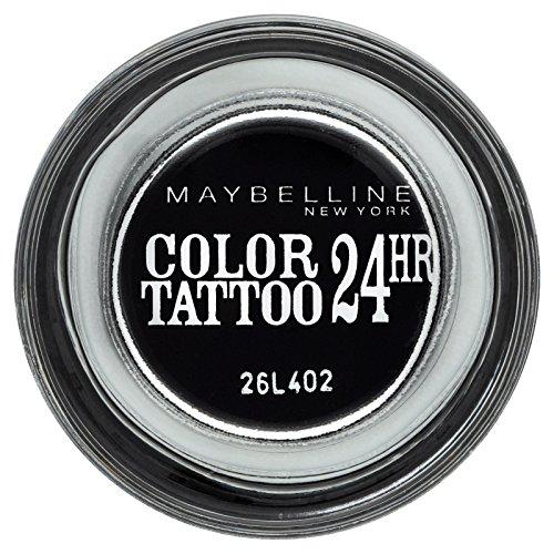 Maybelline  Color Tattoo - Negro Sombra de Ojos - 60 Timeless negro