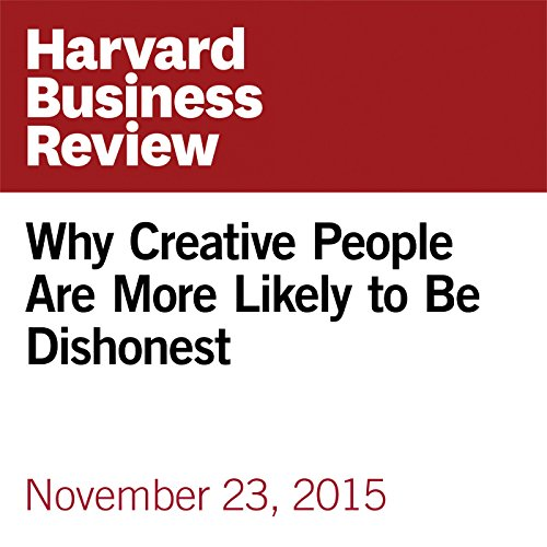 Why Creative People Are More Likely to Be Dishonest copertina