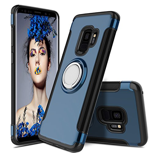 360-degree rotating ring kickstand case for galaxy s9