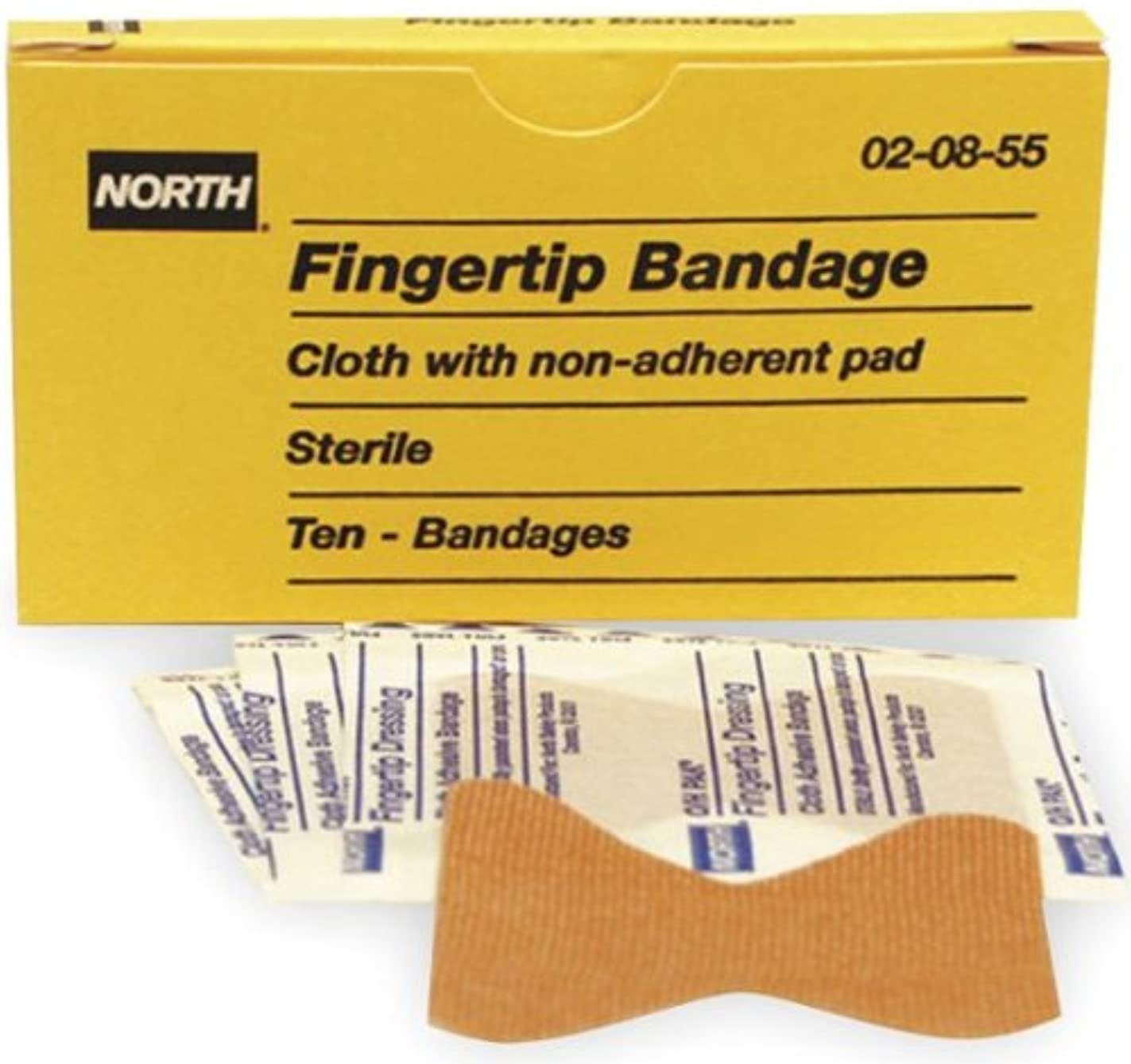 North by Honeywell 020855 Fingertip Bandage, 10 per unit