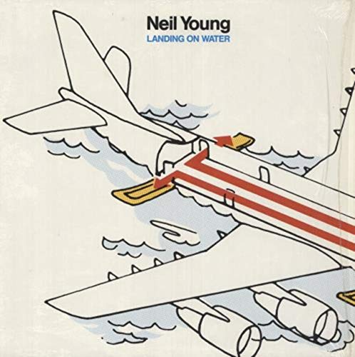 Landing on water (US, 1986) / Vinyl record [Vinyl-LP]