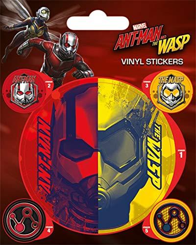 1art1 Ant-Man Poster-Sticker Autocollant - Et La Guêpe, Fourmi Et Guêpe (12 x 10 cm)