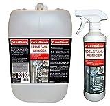 Limpiador de Acero Inoxidable 2.500ML (2,5 Litros) Producto Limpieza Campana Extractora Cocina...