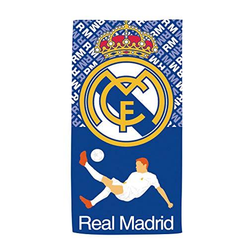 ARDITEX RM13838 Toalla de Microfibra de 70x140cm de Clubs-Real Madrid CF