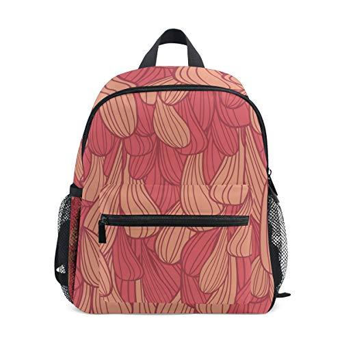 DEZIRO Mer Rouge Herbe Basic Multipurpose Sacs à Dos pour Enfant école Lot