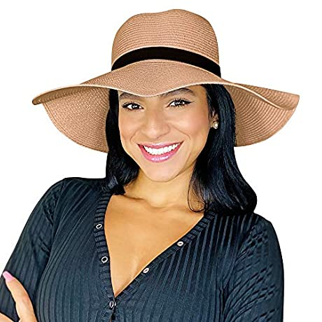 50%OFF  Sowift Womens Sun Straw Hat ☑  With Code $7.99-9.49