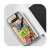 Coque en verre trempé pour Samsung S20 Plus S7 S8 S9 S10 Plus Note 8 9 10 Plus A1 pour Galaxy S9