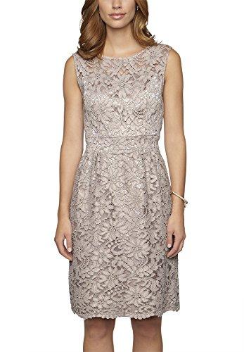 APART Fashion Damen 58366 Kleid, Braun (Taupe), 38