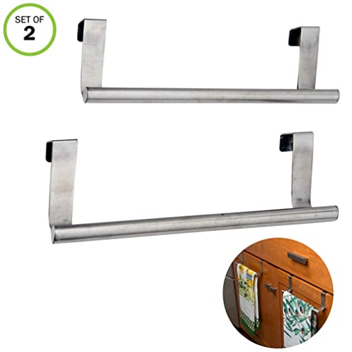 Kitchen Towel Rack Swing Arm Chrome Arms Spread Out For Rapid Drying Durable New