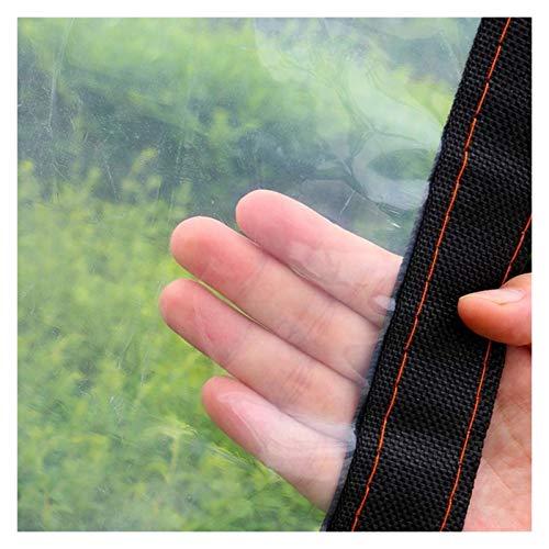 DPLLM Lona Impermeable, Fortalecer la Cubierta a Prueba de Viento Resistente a la Intemperie Resistente al Polvo Transparente Lona de Invernadero para Plantas Invernadero Pet Hutch Roof
