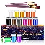 RATEL Pinturas Acrílicas-20ML (14 Colores)