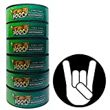 Hooch Herbal Snuff Wintergreen Fine Cut 6 Cans with DC Crafts Nation Skin Can Cover - Metal
