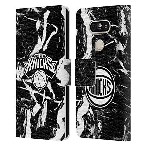 Head Case Designs Ufficiale NBA Marmoreo 2019/20 New York Knicks Cover in Pelle a Portafoglio Compatibile con LG G5 SE / G5 Lite