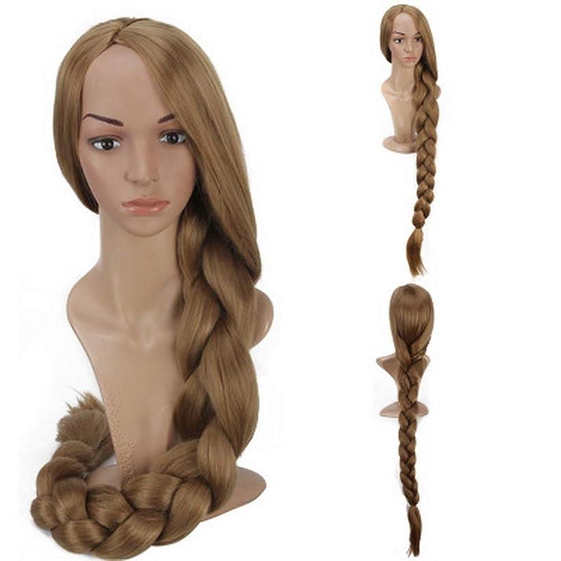 首尾一貫したエゴマニア修道院女性のための色のかつら長いウェーブのかかった髪、高密度温度合成かつら女性のグルーレスウェーブのかかったコスプレヘアウィッグ、女性のための耐熱繊維の髪のかつら、紫色のウィッグ47インチ
