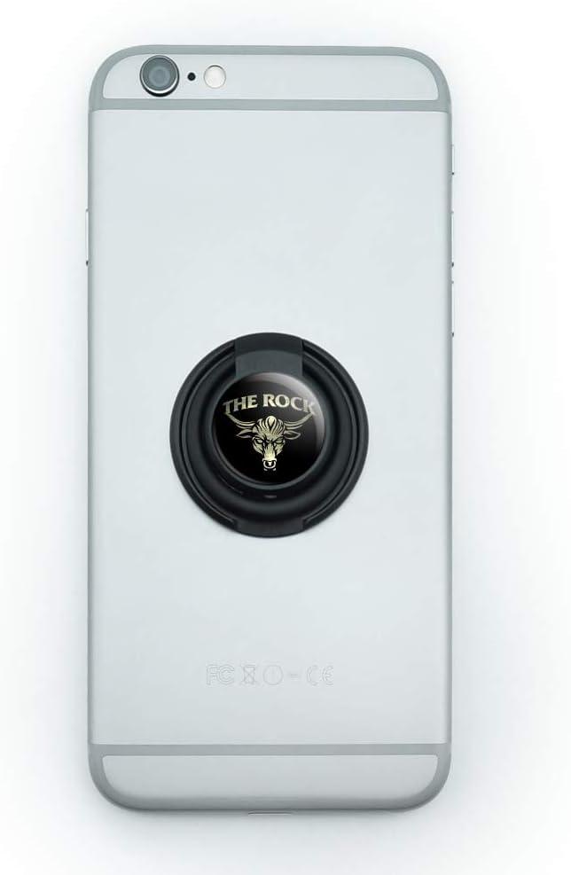 WWE The Dedication Rock Brahma Bull Mobile Hol Grip Outlet SALE Phone Finger Smart Ring