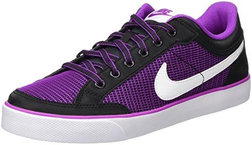 Nike Mädchen Capri 3 Txt Skateboardschuhe, Schwarz (Black/White-Hyper Violet), 37.5 EU