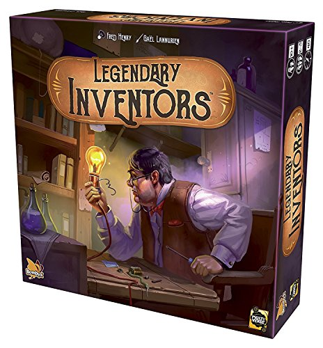 BOMBYX Gioco di Carte Legendary Inventors