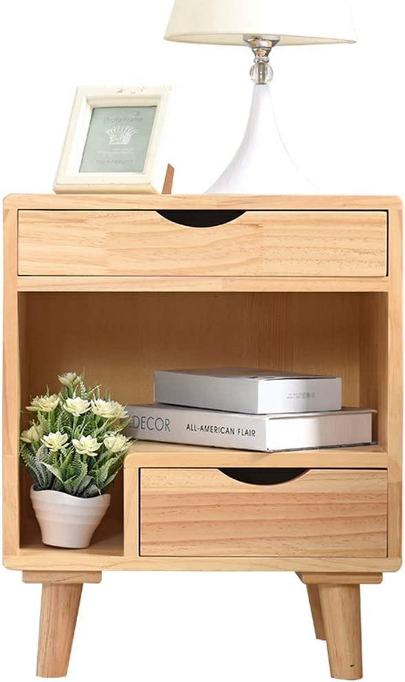 Bedside Max 73% OFF Table Nightstand Wooden Bedroom Modern Rare Bedsid