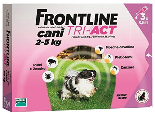 Frontline Tri-Act 2-5 kg (3 doses)