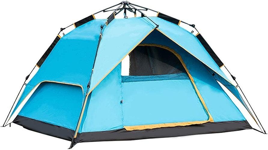 YXLZZO Tente Extérieure pour 3 Ou 4 Personnes Tente (Couleur   vert)
