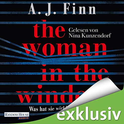 The Woman in the Window: Was hat sie wirklich gesehen? audiobook cover art