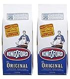 Kingsford Original Charcoal Briquets, Two 7.7 lb Bags