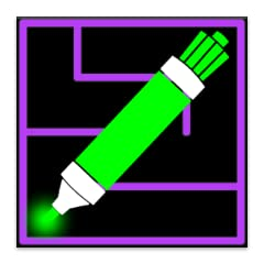 No advertisements Very simple mazes for solving with younger children Rectangular mazes, alphabet mazes, and number mazes Fun neon maze and marker colors All mazes randomly generated
