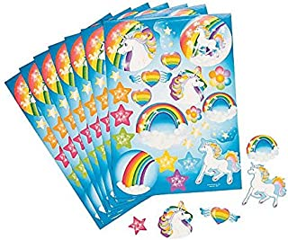 Unicorn Stickers - 12 Sheets