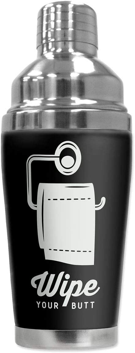Mugzie 16 Ounce Stainless Latest Max 61% OFF item Steel Martini w Shaker Cocktail