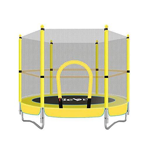 AWSERT Kinder-Trampolin, Yard Trampoline Jumper Innen Zuhause im Freien Geeignet for Kinder Kinder Fitness-Trampolin mit sicherem Netz, Eltern-Kind-Spielzeug Fitness