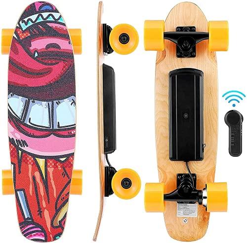 WOOKRAYS Elektrisches Skateboard mit...