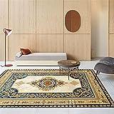 Kunsen alfombras Exterior terraza Alfombra de habitacion Alfombra de Estar Alfombra Rectangular Marrón Cómodo Resistente al Desgaste Salon 200x300cm 6ft 6.7' X9ft 10.1'
