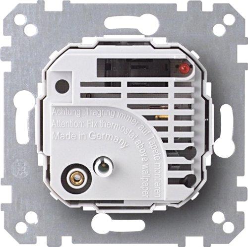 Merten 536302 kamertemperatuurregelaar met schakelaar, AC 230 V
