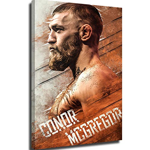 Wall Mural Diamond Painting Conor Mcgregor VS Nate Diaz Poster Art Canvas Wall Decor Wall Art 24x36inch