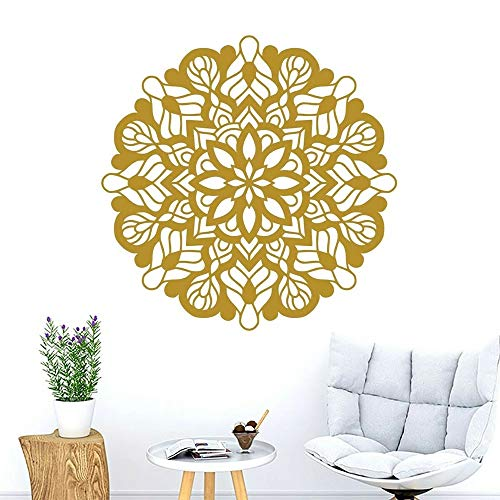 Applique Mandala Home Decor Bedroom Background Boho Style Home Interior Decor Vinyl Wall Decal Sticker