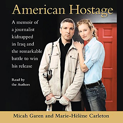 American Hostage audiobook cover art