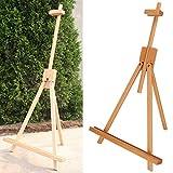 Chevalet trépied en bois durable chevalet en bois publicité affichage chevalet enfant pour les amateurs en herbe