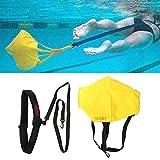 VGEBY Paracadute da Nuoto per Allenamento Stazionario di Resistenza, Cinture di Nuoto Unisex per Adulto e Bambini