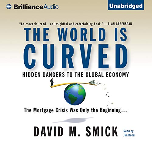 The World Is Curved audiobook cover art