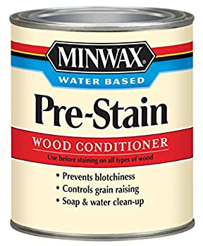 Minwax 618514444 Water-Based Pre- Stain Wood Conditioner quart