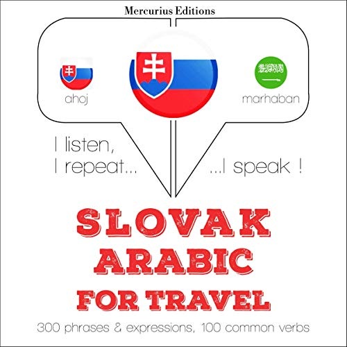 Couverture de Slovak - Arabic. For travel