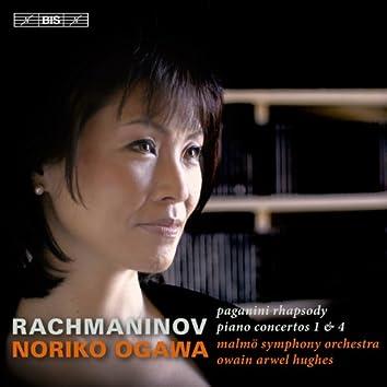 Rachmaninov: Piano Concertos Nos. 1 & 4 - Rhapsody on a Theme of Paganini