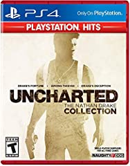 Play as Nathan Drake across a trilogy of thrilling, white-knuckle adventures. Experience Drake's relationships with those closest to him, as he struggles to balance adventure and family New Trophies – Brand-new trophies created exclusively for UNCHAR...