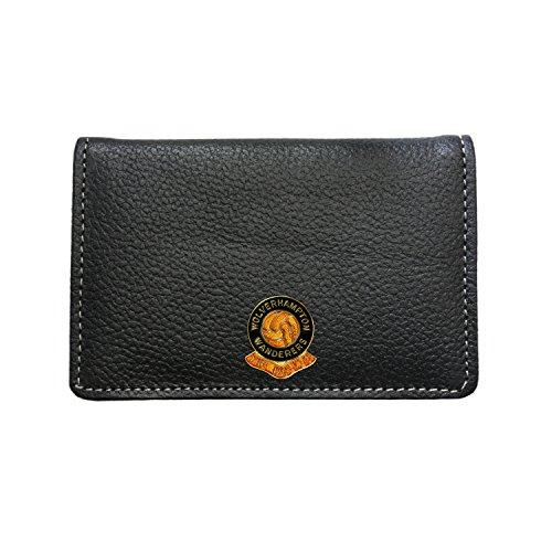 Wolverhampton Wanderers Football Club Leather Card Holder Wallet